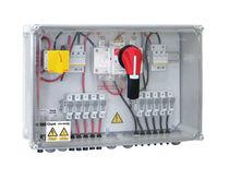 Caja eléctrica equipada / mural / de plástico / para aplicaciones fotovoltaicas