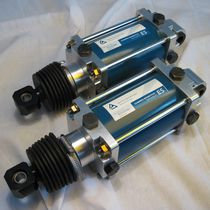 Cilindro neumático / de doble efecto / a medida / de fuelle