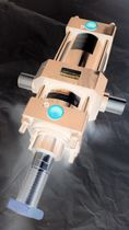 Cilindro neumático / de doble efecto / para cargas pesadas / a medida