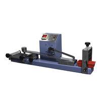 Máquina de prueba de rozamiento / para caucho / semiautomática