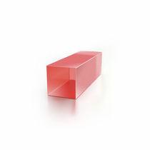Cristal óptico / de zafiro dopado con titanio Ti Al2O3 / láser