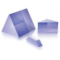 Prisma de dispersión / de sílice fundida / de vidrio BK7 / equilátero