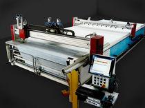 Máquina de corte de tejido / láser / CNC