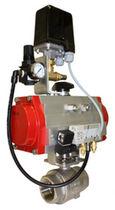 Válvula de bola / electroneumática / de regulación de presión / para aire comprimido