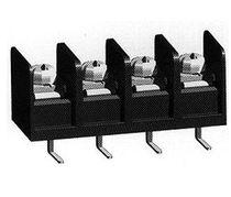 Bloque de conexión con tornillo / para circuito impreso