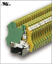 Bloque de conexión con conexión rápida / en riel-DIN / de puesta a tierra