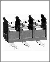 Conector para tarjeta electrónica / hilo a tarjeta / rectangular / de tornillo