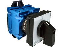 Interruptor de levas / multipolar / con manivela giratoria / electromecánico
