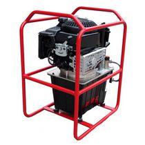 Grupo hidráulico con motor térmico / para aplicaciones móviles / para obra / de alta presión