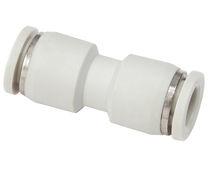 Racor bloqueable por presión / recto / neumático / de PU