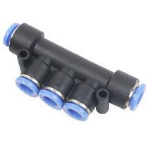 Racor push-in / en T / neumático / de plástico