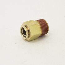 Racor bloqueable por presión / recto / neumático
