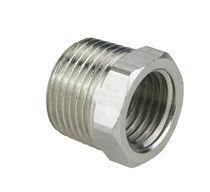Reductor macho-hembra hidráulico / para tubos / de reducción / de rosca