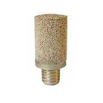 Silenciador de escape / para filtro / para válvula / para instalación de tratamiento de aire