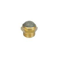 Silenciador de escape / para filtro / para instalación de tratamiento de aire / para aire comprimido