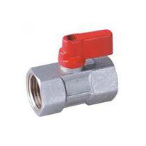 Válvula de bola / con control neumático / para gas