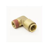 Racor bloqueable por presión / de ángulo recto / neumático