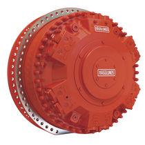 Motor hidráulico de pistón radial / con estriado / con acoplamiento de árboles