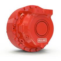 Motor hidráulico de pistón radial / baja velocidad / industrial / con estriado