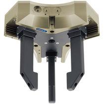 Pinza de prensión neumática / concéntrica / de 3 mandíbulas / con centro hueco