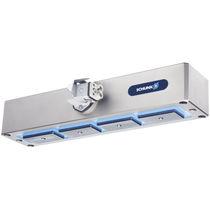 Pinza de prensión para sala blanca / compacta / con alta fuerza de cierre / magnética