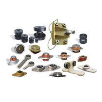 Soporte antivibratorio cilíndrico / de metal / a medida / amortiguador de vibraciones
