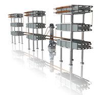 Batería de condensadores shunt de bastidor abierto
