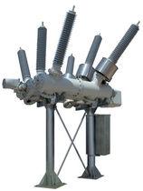Cuadro eléctrico primario / de alta tensión / aislado en gas / híbrido