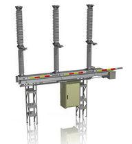 Interruptor seccionador de alta tensión / de exterior