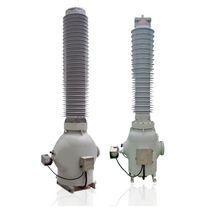 Transformador de medidas / seco / aislado en gas SF6 / de pie
