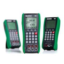 Calibrador de temperatura / de presión / multifunción / de mano