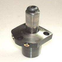 Cilindro de sujeción de punto cero de brida / con pistón / redondo