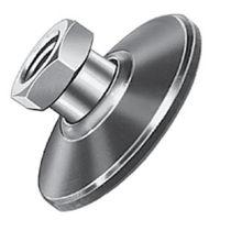 Pie de máquina / de acero / de nivelación / de rosca