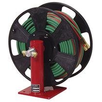 Enrollador de tubo / para cables / de manivela / fijo
