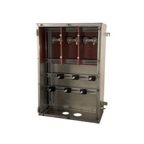 Caja eléctrica mural / de metal / para rack para distribución eléctrica