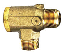 Válvula de retención de globo / de cobre