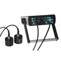 Aparato de inspección PND por ultrasonidos mediante velocidad de impulso