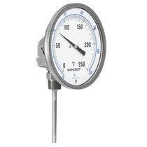 Termómetro bimetálico / analógico / de inserción / de acero inoxidable