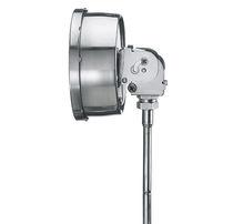 Termómetro de gas / analógico / de inserción / de acero inoxidable