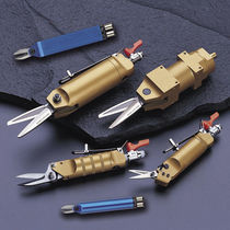 Cizalla neumática / para chapas metálicas / para cintas de flejado / de mano