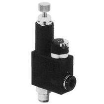 Regulador de presión para aire / monoetapa / neumático / en miniatura