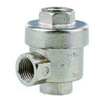 Válvula con control neumático / para aire / unidireccional / de escape rápido