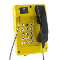Teléfono resistente a las inclemencias / robusto / IP65 / analógico