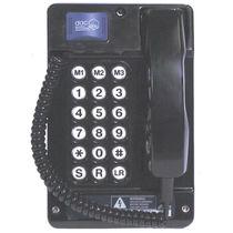 Teléfono resistente a las inclemencias / robusto / antideflagrante / analógico