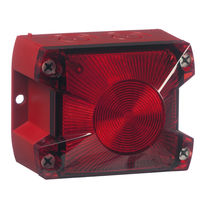 Avisador luminoso de flash intermitente / LED / 115 V CA / 230 Vca