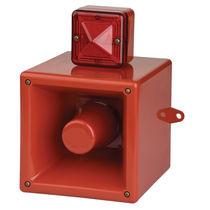 Difusor de alarma sonora con avisador luminoso de xenón / con luz de señalización / IP66