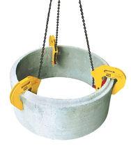 Pinza de elevación para materiales de construcción / manual