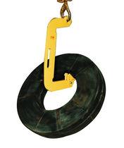 Gancho de elevación / tipo C / para cargas pesadas / de acero