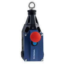 Interruptor con control por cable / de parada de emergencia / estanco al agua / robusto