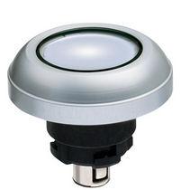 Botón pulsador con luz / industrial / electromecánico / estándar